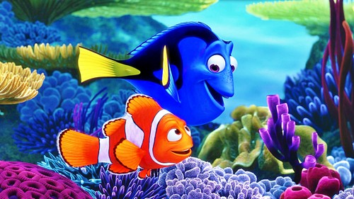 Walt Disney Characters wallpaper entitled Disney•Pixar Wallpapers - Finding Nemo