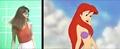 Walt Disney Live-Action References - The Little Mermaid