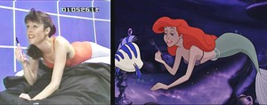 Walt Disney Live-Action References - The Little Mermaid