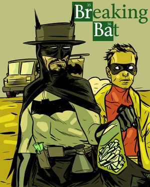 Walt and Jesse Người dơi and Robin - Breaking Bad