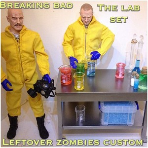 Walt and Jesse Action Figures - Breaking Bad