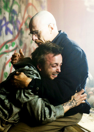 Jesse and Walt - Breaking Bad