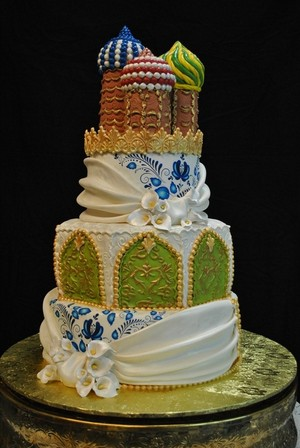 russia wedding cake
