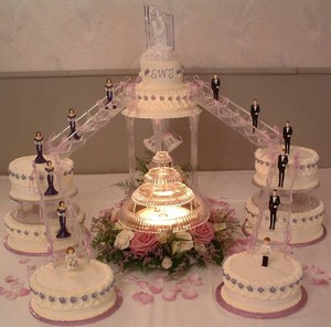 Popular White Wedding Cake Designs