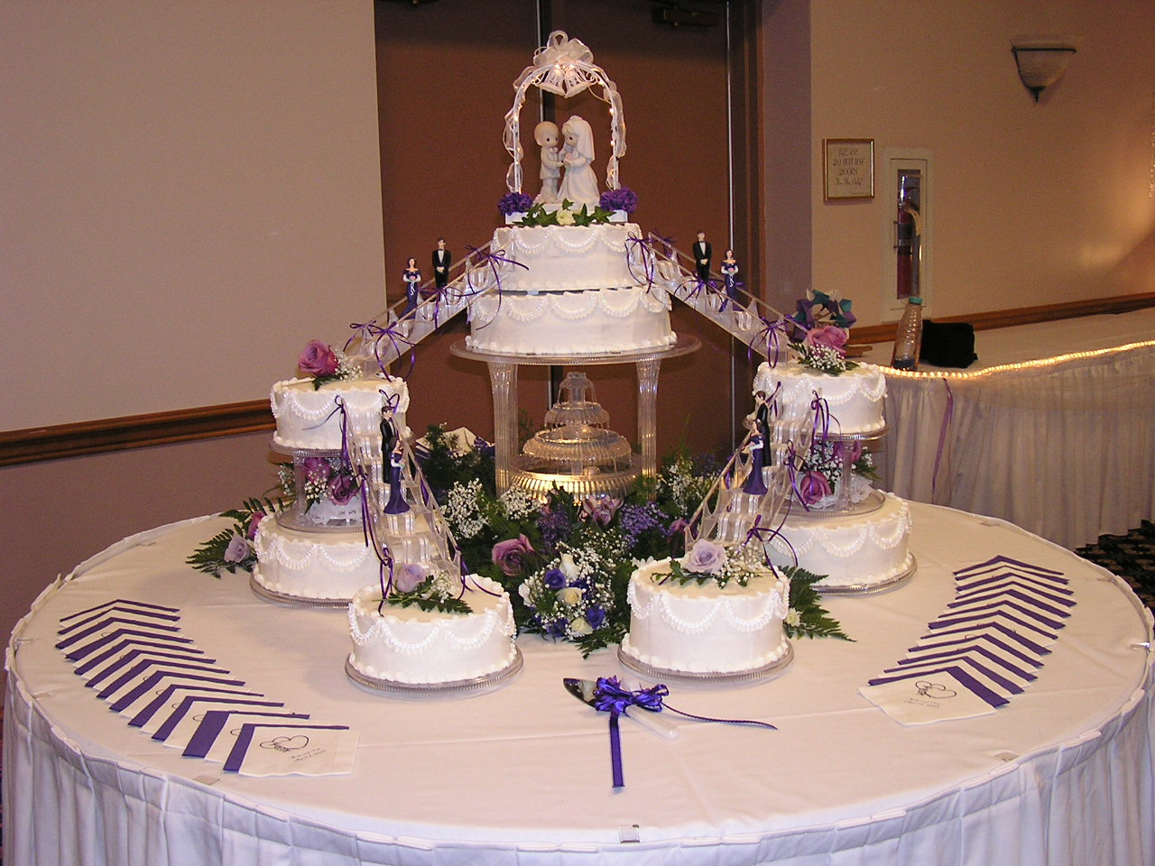 Wedding Cake Water Fountain