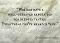 Sara Sheridan Quote on Writing