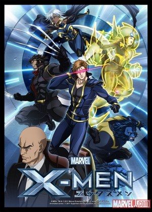 Marvel Anime: X-Men Poster
