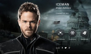 X-men: Days of Future Past Character Bio Iceman