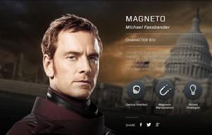 X-men: Days of Future Past Character Bio Magneto