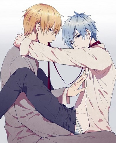 yaoi wallpaper possibly containing animê entitled Kise x Kuroko
