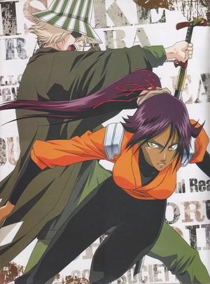 Kisuke Urahara and Yoruichi