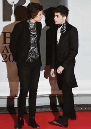 Harry and Zayn