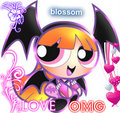 blossom love omg heart - powerpuff-girls fan art