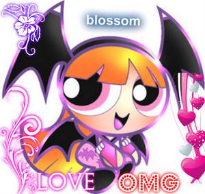 blossom love omg heart