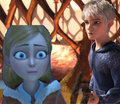 Gerda and Jack Frost - disney-crossover photo
