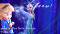 Elsa : Let it go - disney-crossover photo