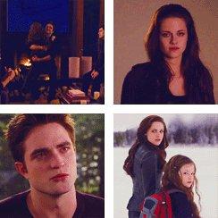 Edward, Bella and Renesmee