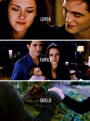 Lover, Family and Shield