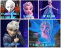elsa thinks jack s hot