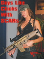 Guys Like Chicks With SCARs - guns photo