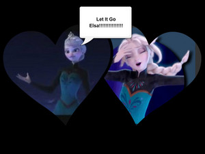 let it go Elsa