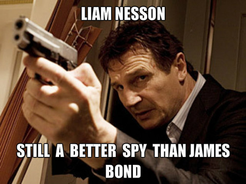 Liam Neeson wolpeyper called liam vs james