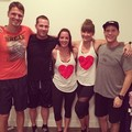 luke and canada team -instagram  - luke-macfarlane photo