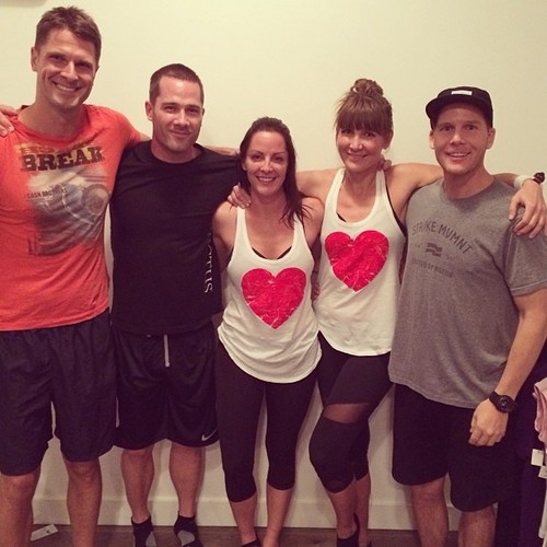 Luke Macfarlane Hintergrund possibly with a brassiere titled luke and canada team -instagram