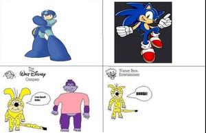 Mega Man vs Sonic the Hedgehog