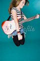 Jump guitar girl - msyugioh123 photo