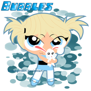 bubbles !!!!! cartoon verson