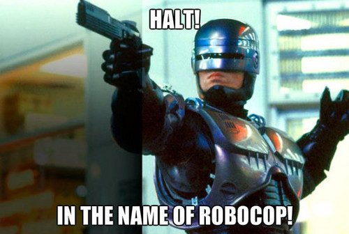 Robocop wallpaper containing a breastplate titled robocop
