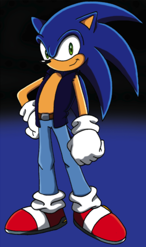 sonic grown up