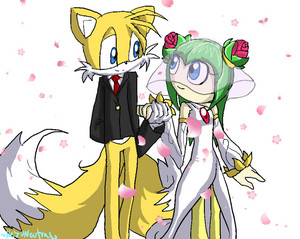 tails and cosmo wedding