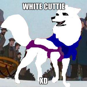 white cuttie