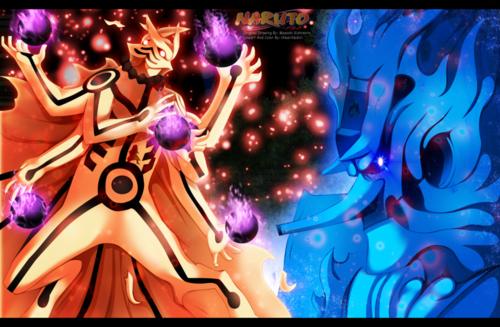 naruto shippuuden fondo de pantalla entitled *Ashura v/s Indra*