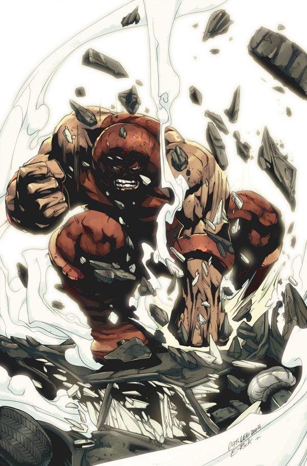 Marvel Minimalist Poster - Juggernaut