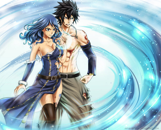 The Couples Of Fairy Tail Images Gray X Juvia Wallpaper And Background Photos