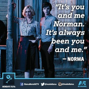 """It´s wewe and me Norma. It´s always as been wewe and me."""