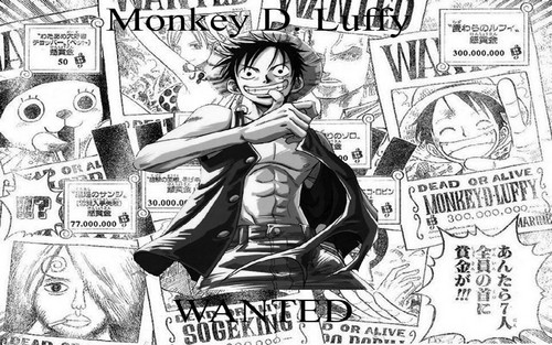 Monkey D Luffy Wallpaper Containing Anime Entitled Luffy