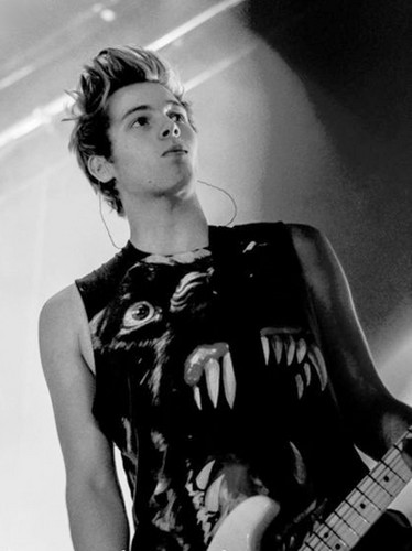 Luke Hemmings wallpaper entitled                      Luke