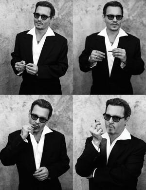 New Johnny Depp photoshoots 2014