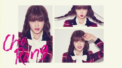 """Korea Girls Group A Pink wallpaper containing a portrait called """"Pink Blossom"""" Mini Album"""