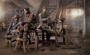 The Musketeers - Cast bức ảnh