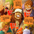 *Who will Win* - one-piece photo