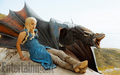 Daenerys Targaryen & Drogon - game-of-thrones photo