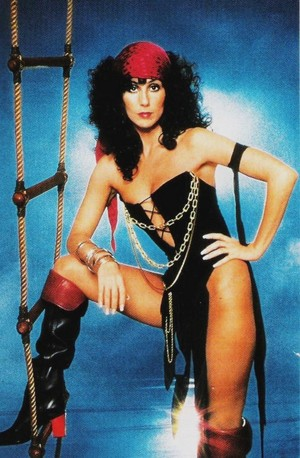 Cher Dressed As A Pirate