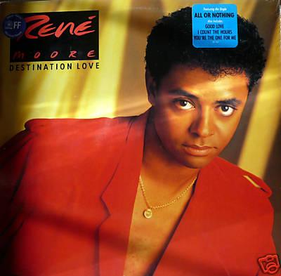 "1988 Rene Moore Debut Release, ""Destination Love"""