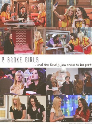 2 broke girl family