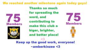 75 Members!!!!!!